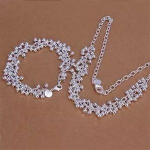Jewelry - 925 sterling silver necklace and bracelet set
